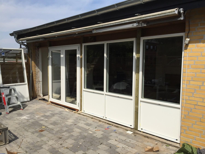 Udskiftning af døre og vinduer